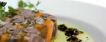 Terrine de queue de boeuf en gelée